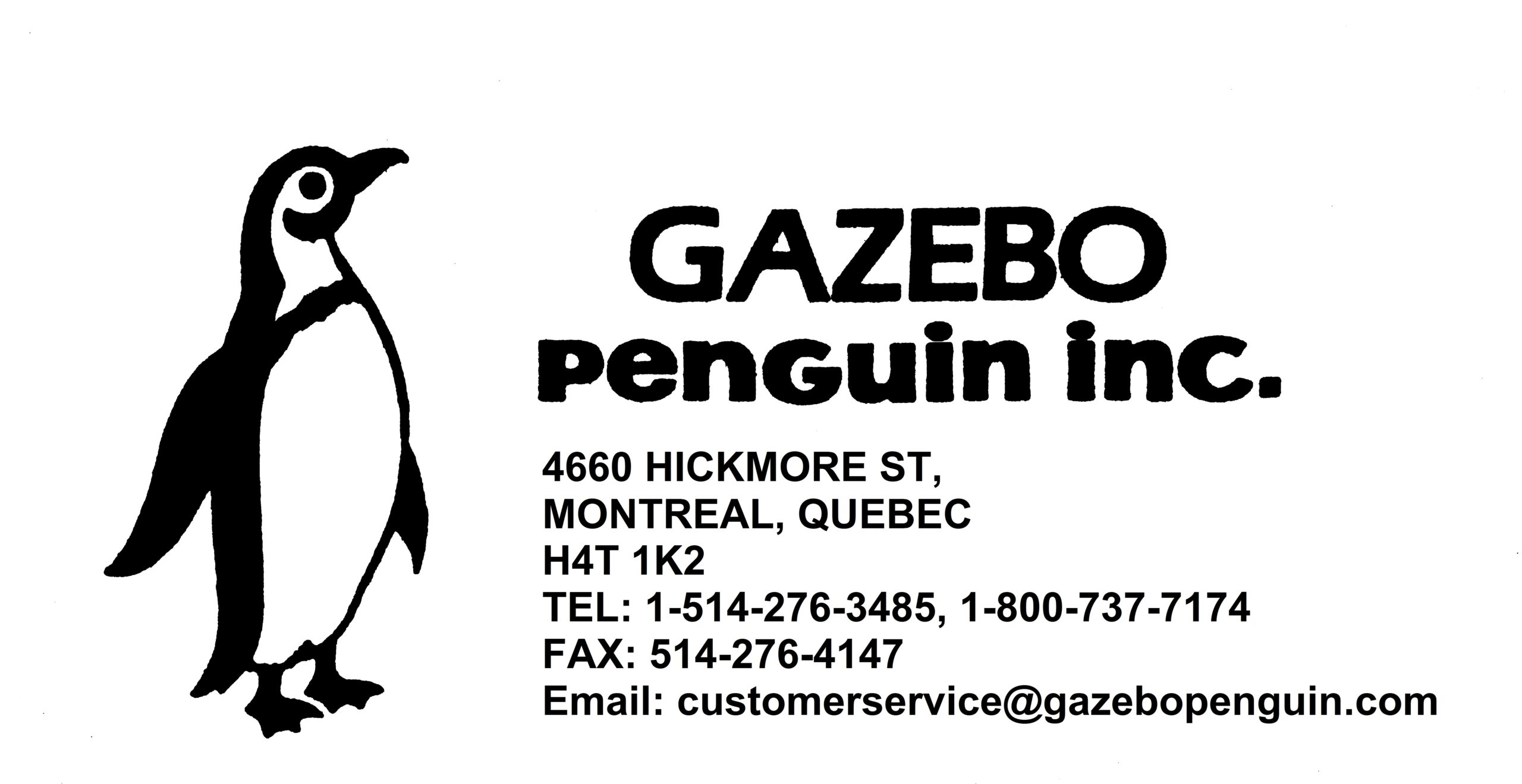 Logo Gazebo Penguin